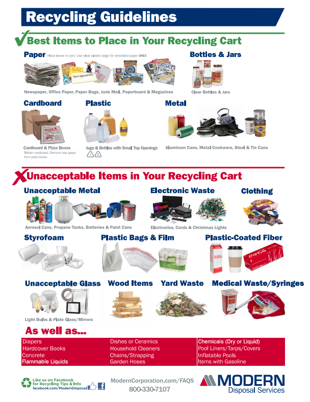 2020 Recycling Guide
